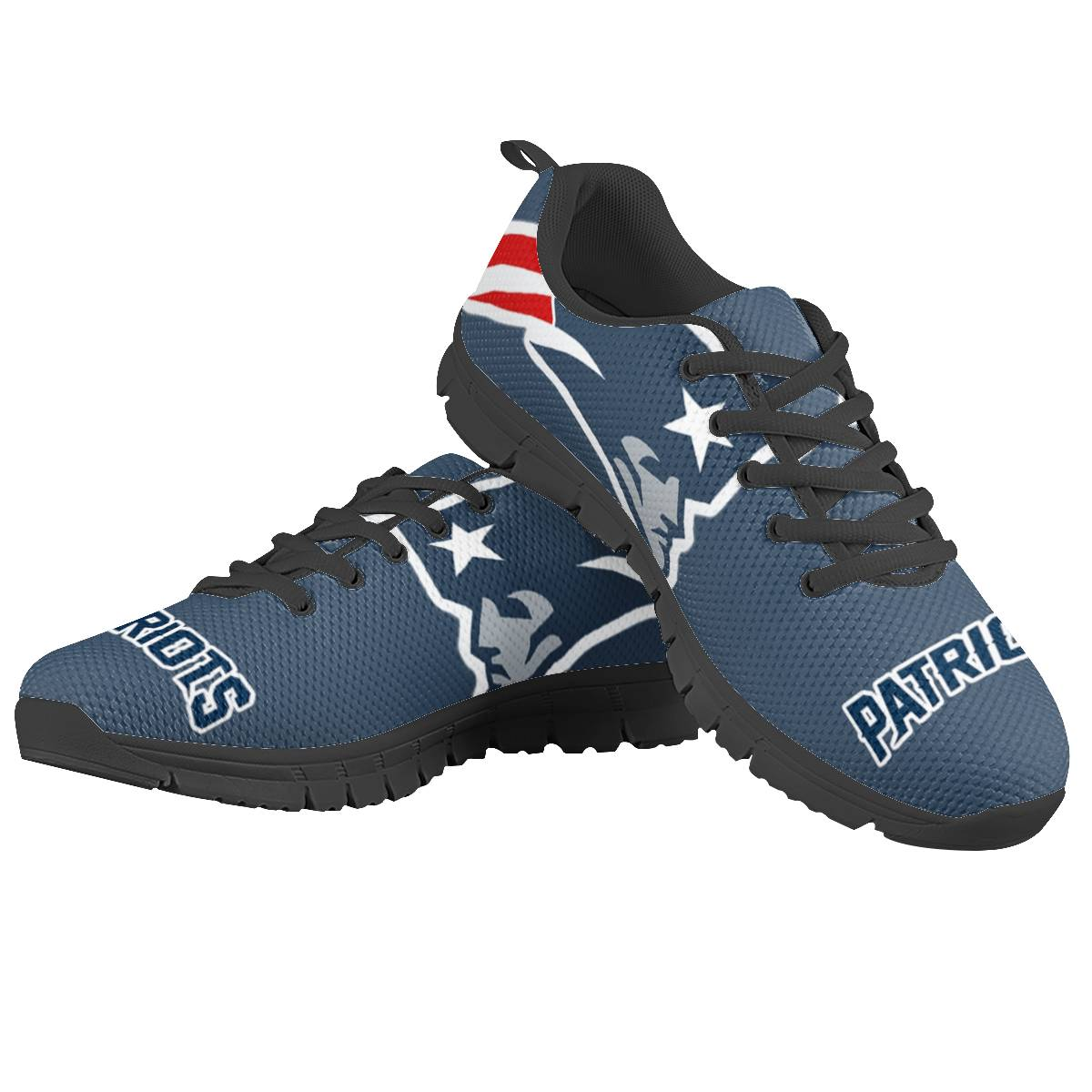 Men's New England Patriots AQ Running Shoes 001