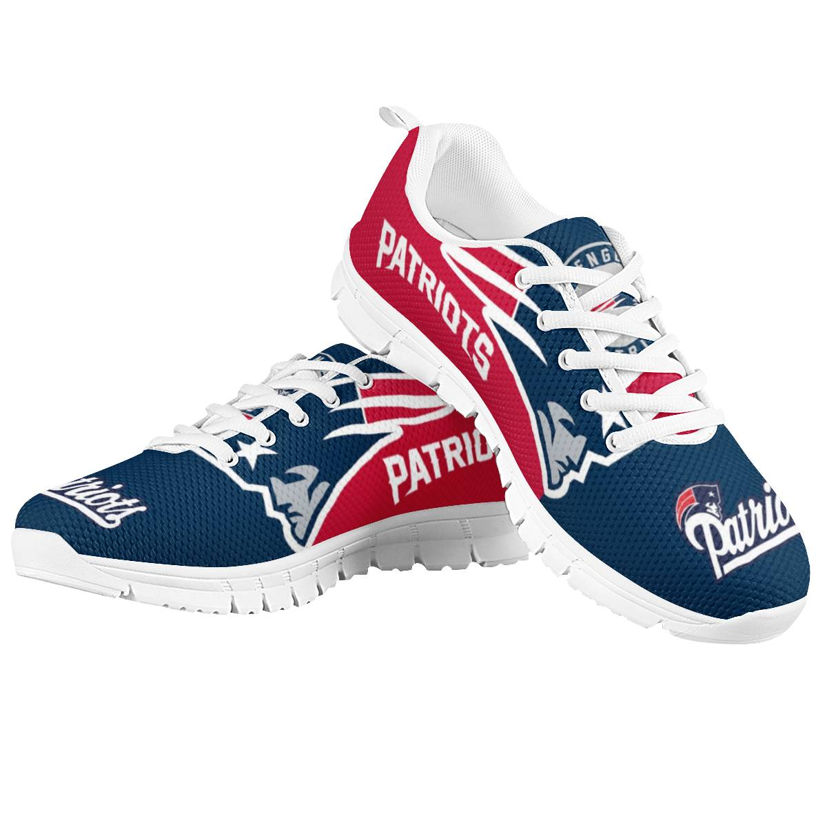 Men's New England Patriots AQ Running Shoes 002