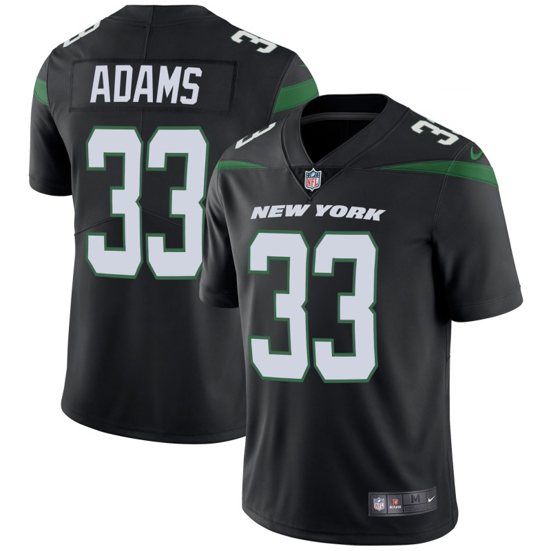 Men's New York Jets #33 Jamal Adams 2019 Black Vapor Untouchable Limited Stitched NFL Jersey