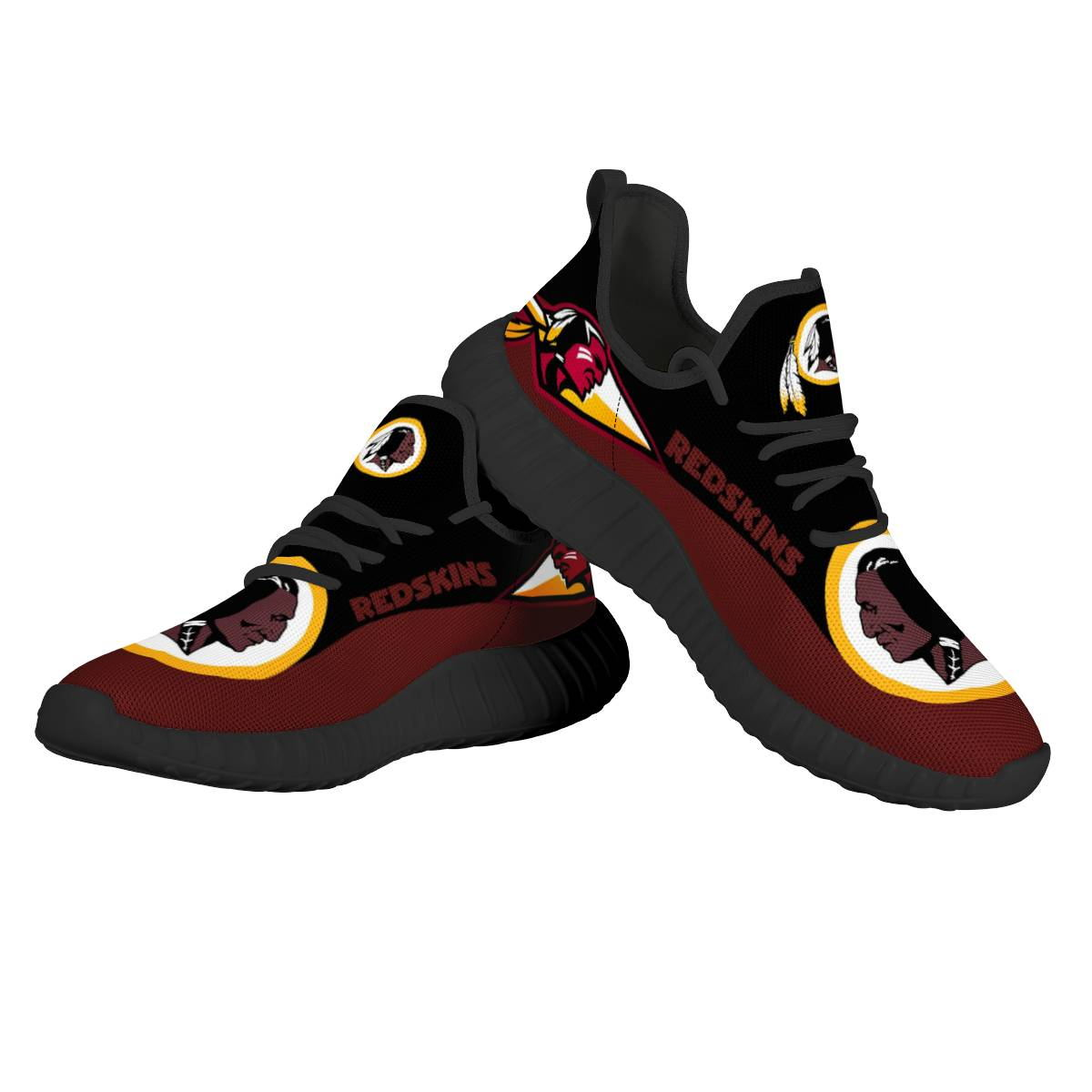 Men's NFL Washington Redskins Mesh Knit Sneakers/Shoes 002