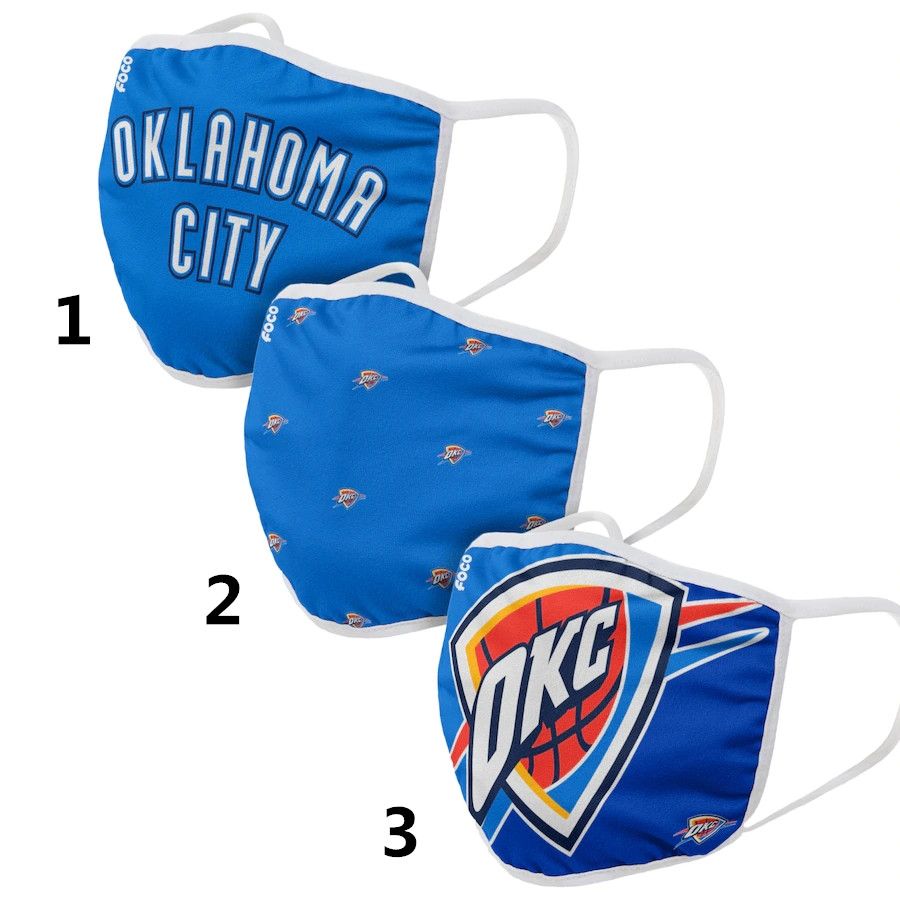 Oklahoma City Thunder Sports Face Mask 001 Filter Pm2.5 (Pls check description for details)