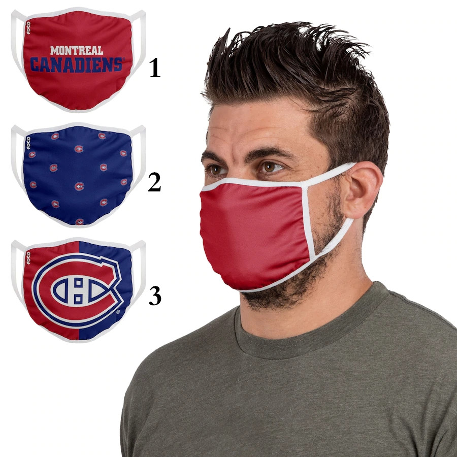 Montreal Canadiens Sports Face Mask 001 Filter Pm2.5 (Pls check description for details)