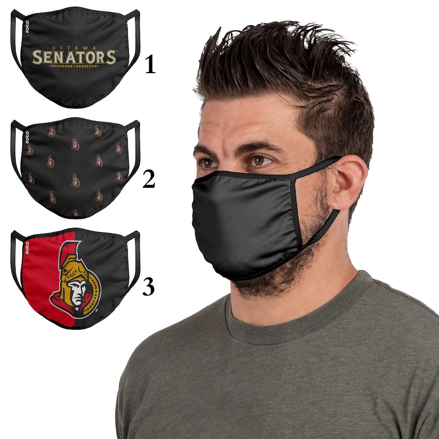 Ottawa Senators Sports Face Mask 001 Filter Pm2.5 (Pls check description for details)