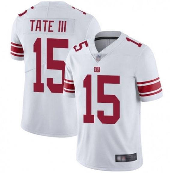 Men's New York Giants #15 Golden Tate III White Vapor Untouchable Limited Stitched Jersey