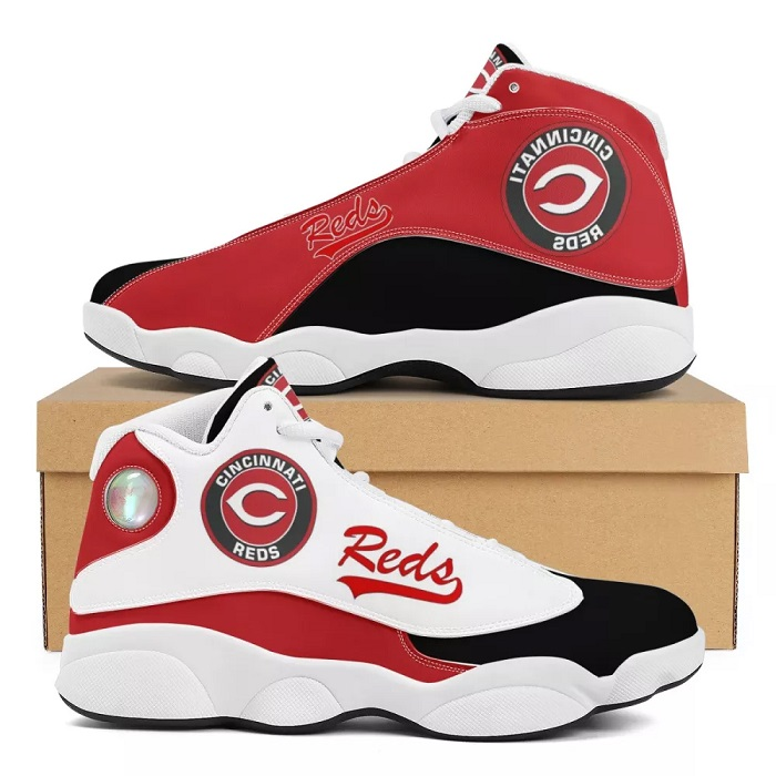 Women's Cincinnati Reds Limited Edition JD13 Sneakers 001