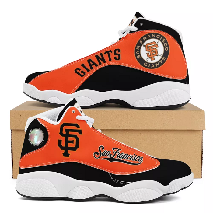 Women's San Francisco Giants Limited Edition JD13 Sneakers 001
