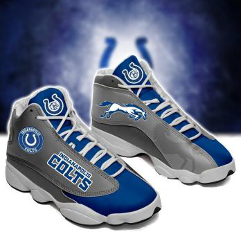 Men's Indianapolis Colts Limited Edition JD13 Sneakers 003
