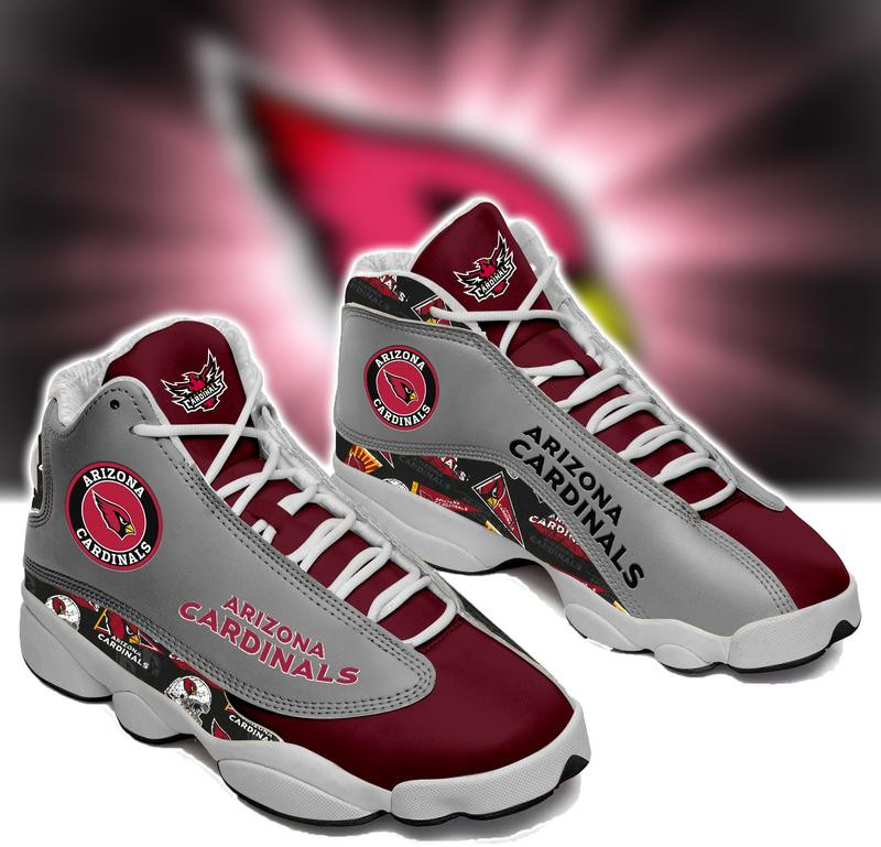 Men's Arizona Cardinals Limited Edition JD13 Sneakers 002