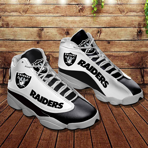 Men's Las Vegas Raiders Limited Edition JD13 Sneakers 010