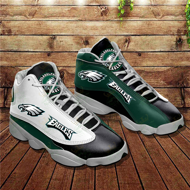 Women's Philadelphia Eagles Limited Edition JD13 Sneakers 002