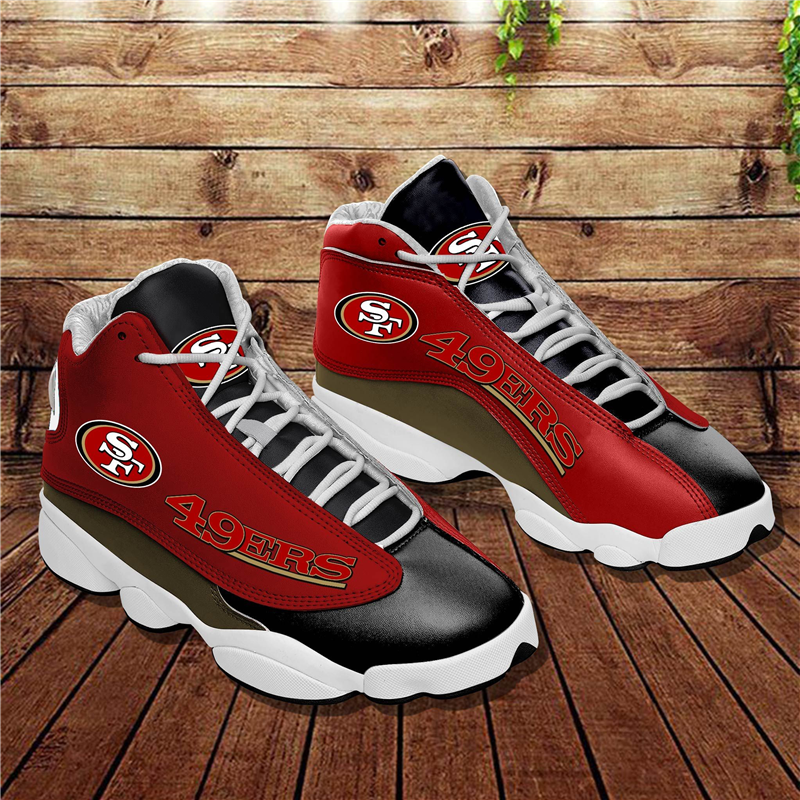 Women's San Francisco 49ers Limited Edition JD13 Sneakers 007