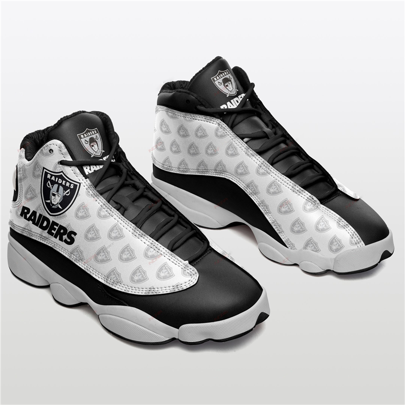 Women's Las Vegas Raiders Limited Edition JD13 Sneakers 011