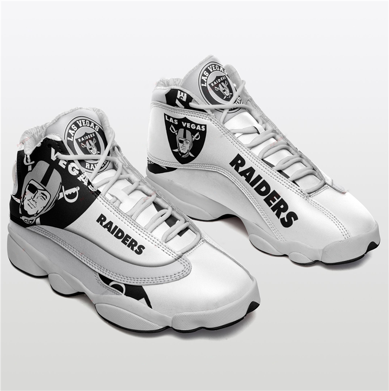 Women's Las Vegas Raiders Limited Edition JD13 Sneakers 012