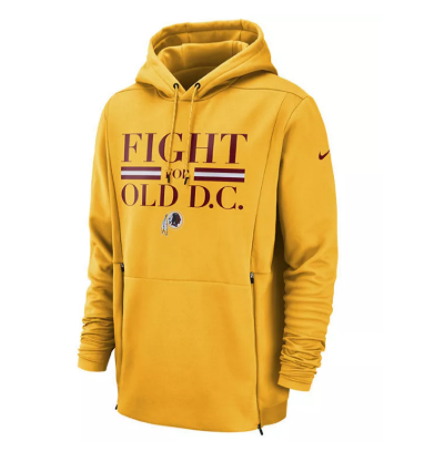 Men's Washington Football Team Sideline Player Local Therma Hoodie
