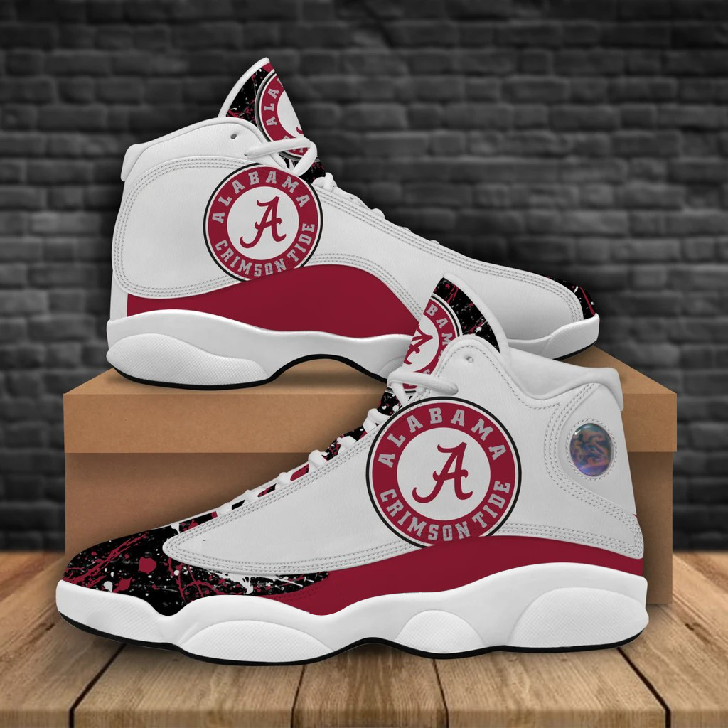 Men's Alabama Crimson Tide Limited Edition JD13 Sneakers 001