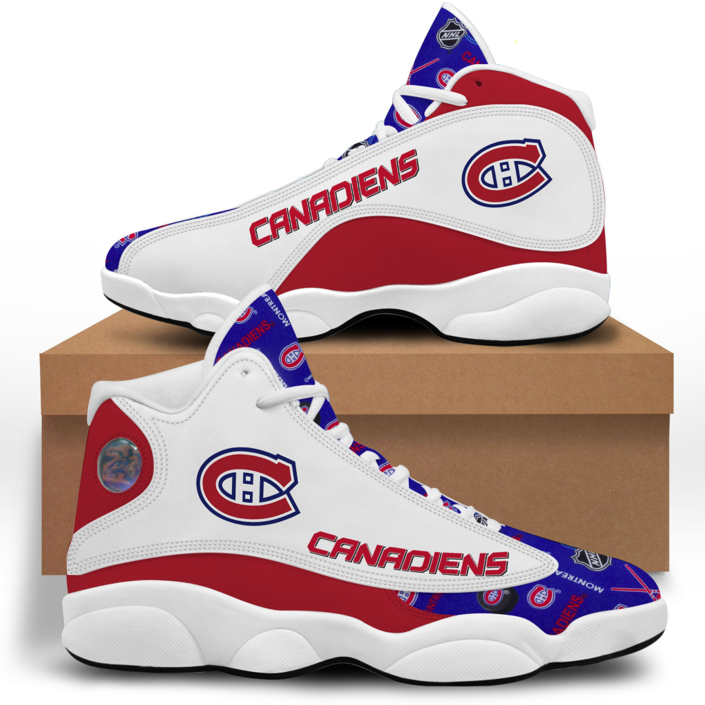 Women's Montreal Canadiens Limited Edition JD13 Sneakers 001