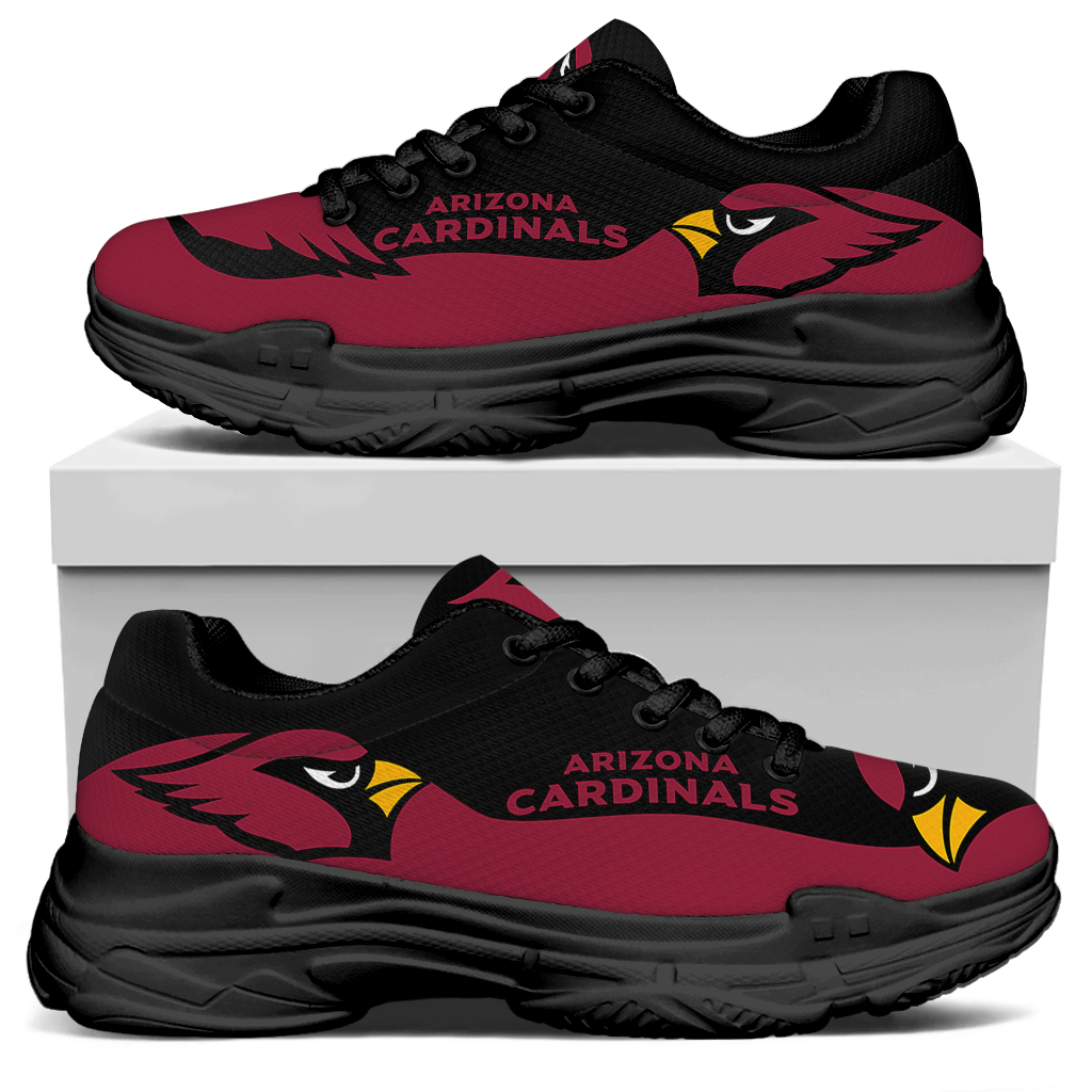 Men's Arizona Cardinals Edition Chunky Sneakers With Line 001