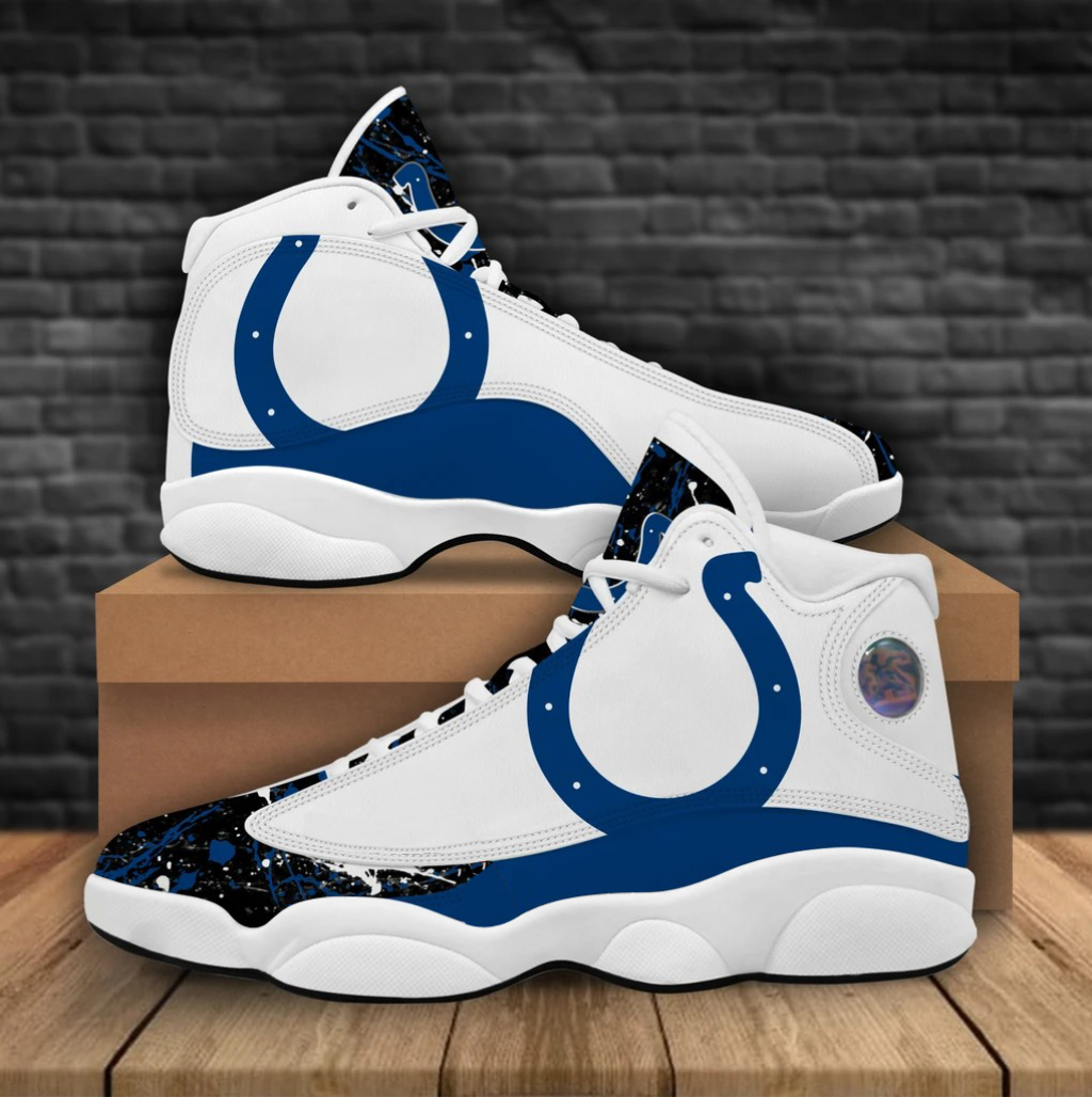 Men's Indianapolis Colts Limited Edition JD13 Sneakers 002