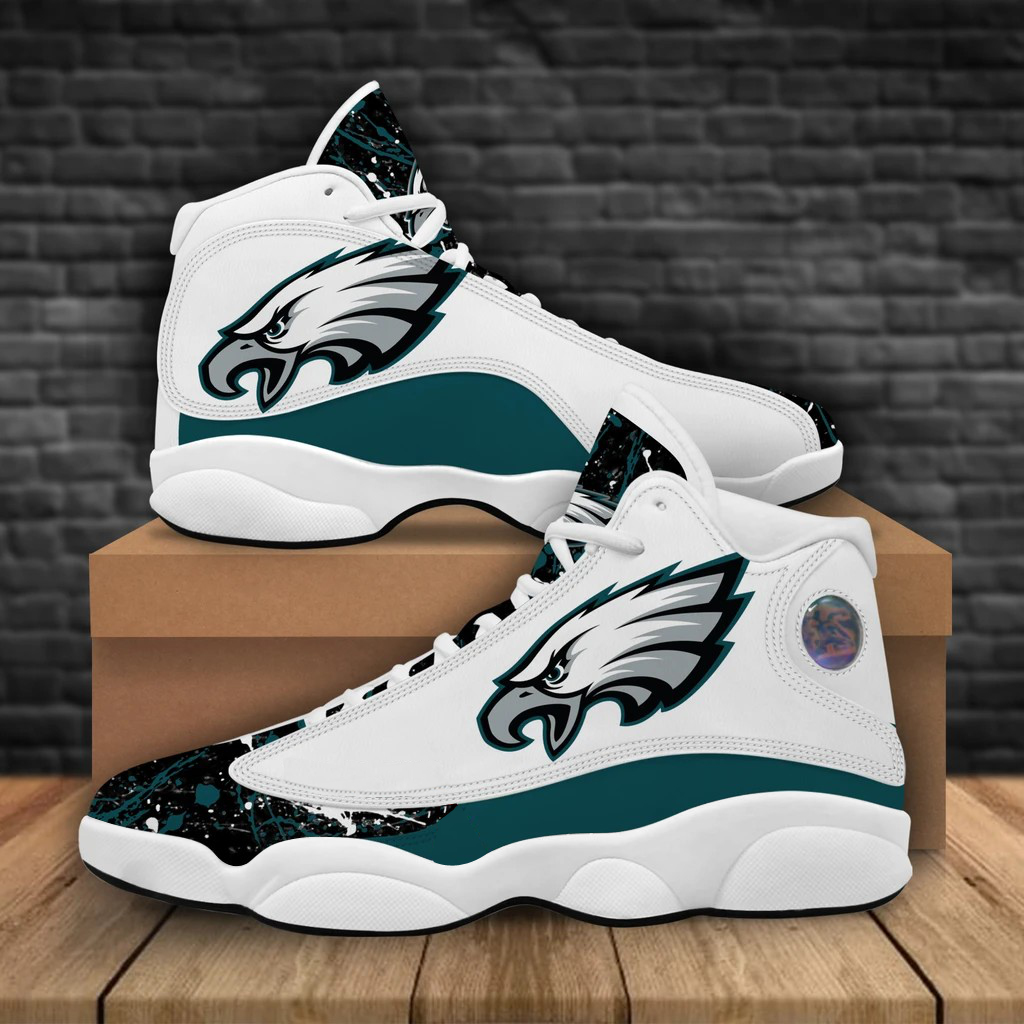 Men's Philadelphia Eagles Limited Edition JD13 Sneakers 001