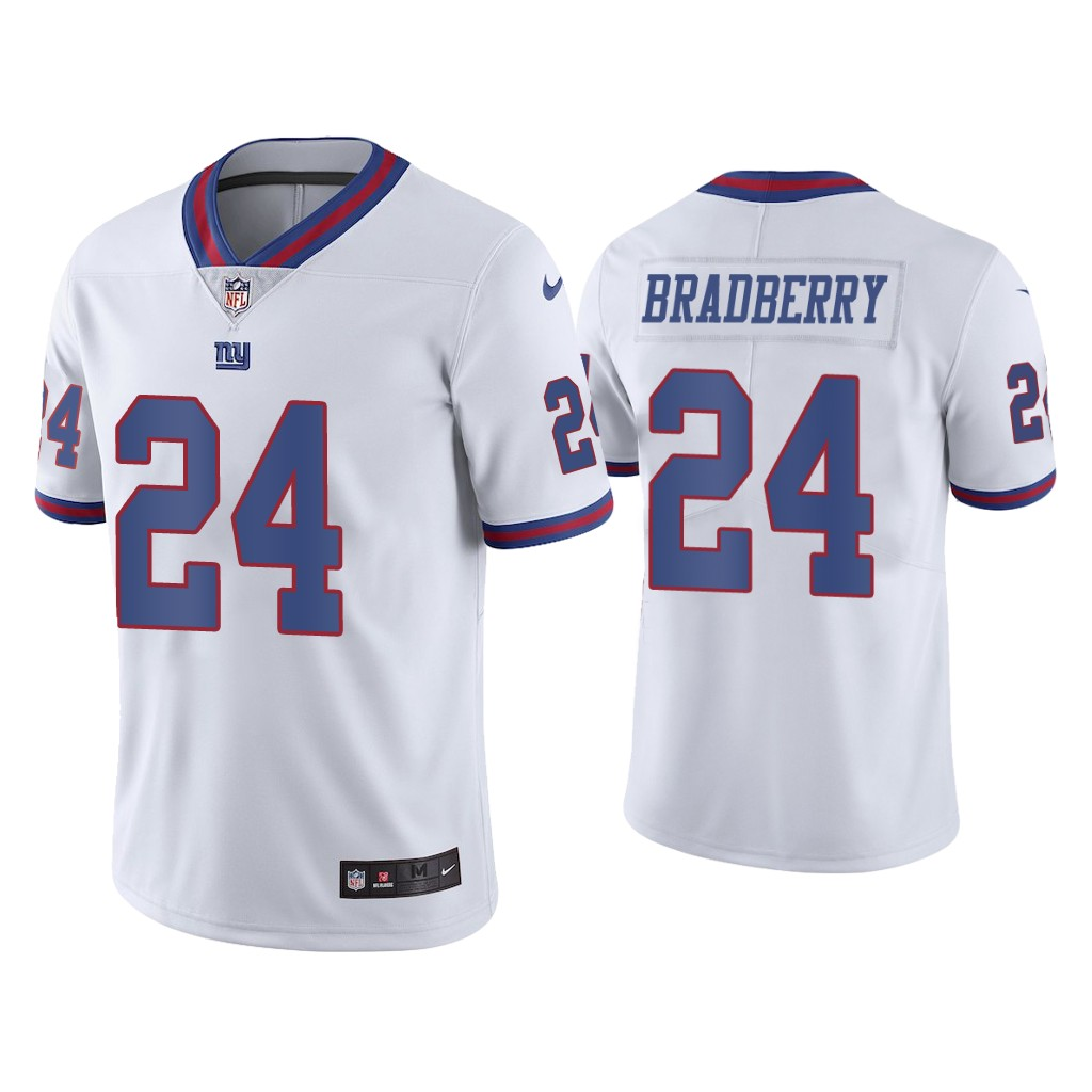 Men's New York Giants #24 James Bradberry White Color Rush Limited Stitched NFL Jersey