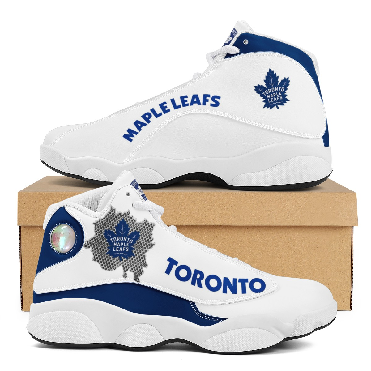 Women's Toronto Maple Leafs Limited Edition JD13 Sneakers 001