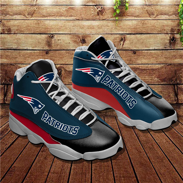 Women's New England Patriots Limited Edition JD13 Sneakers 004