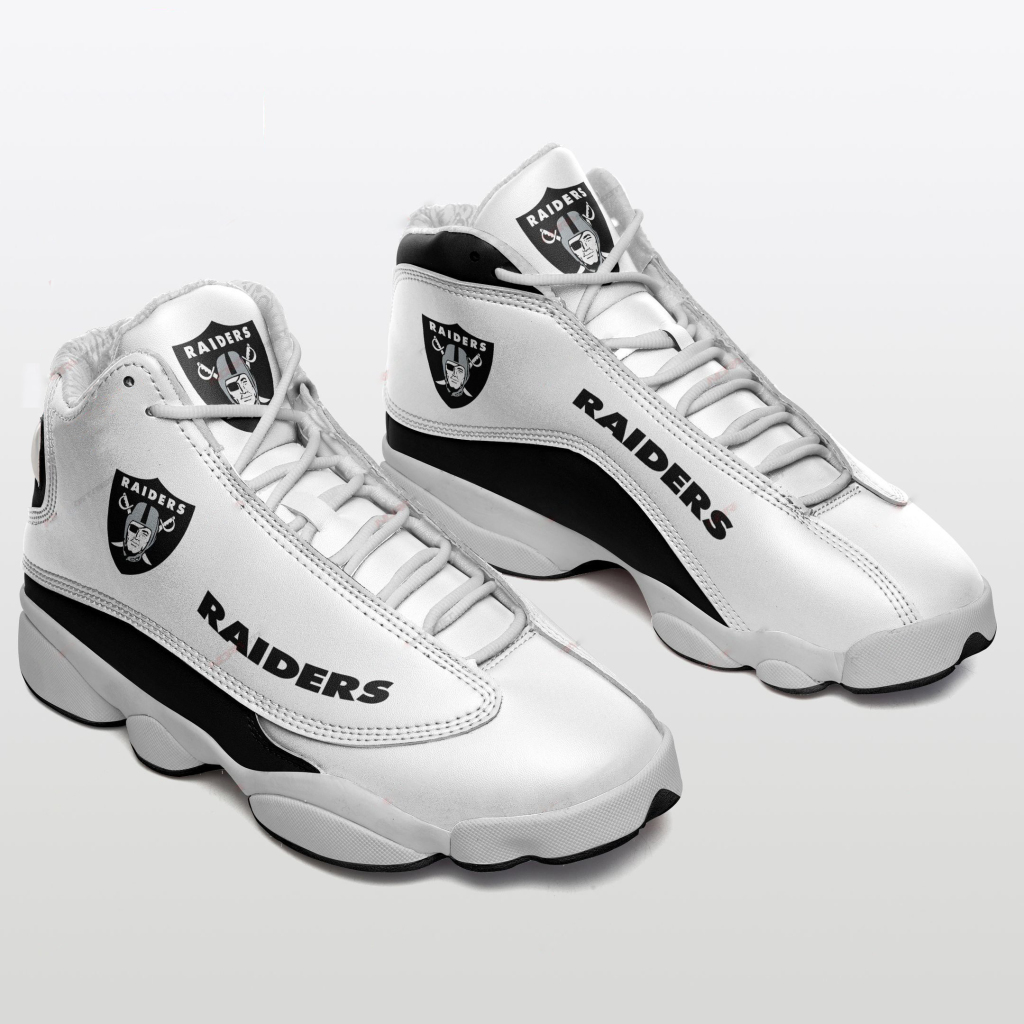 Men's Las Vegas Raiders Limited Edition JD13 Sneakers 003