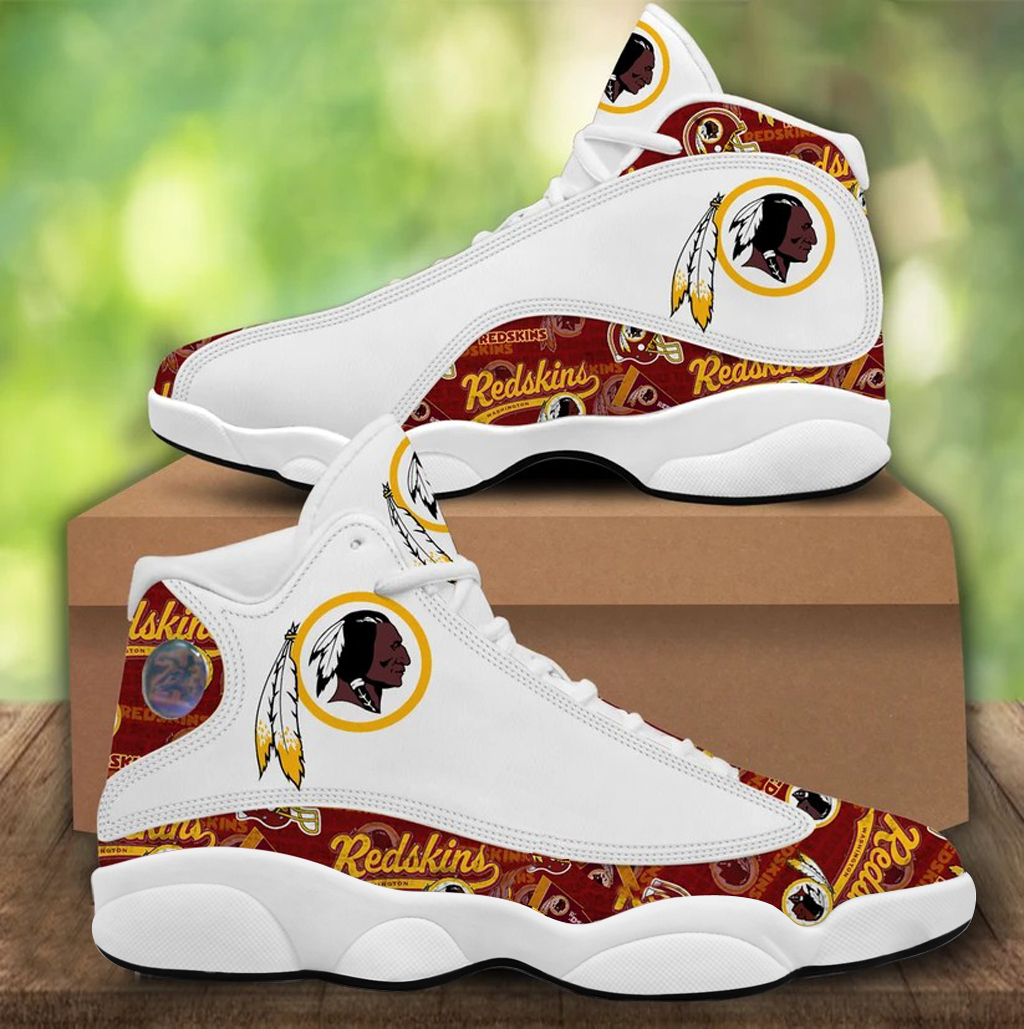 Women's Washington Football Team Limited Edition JD13 Sneakers 002