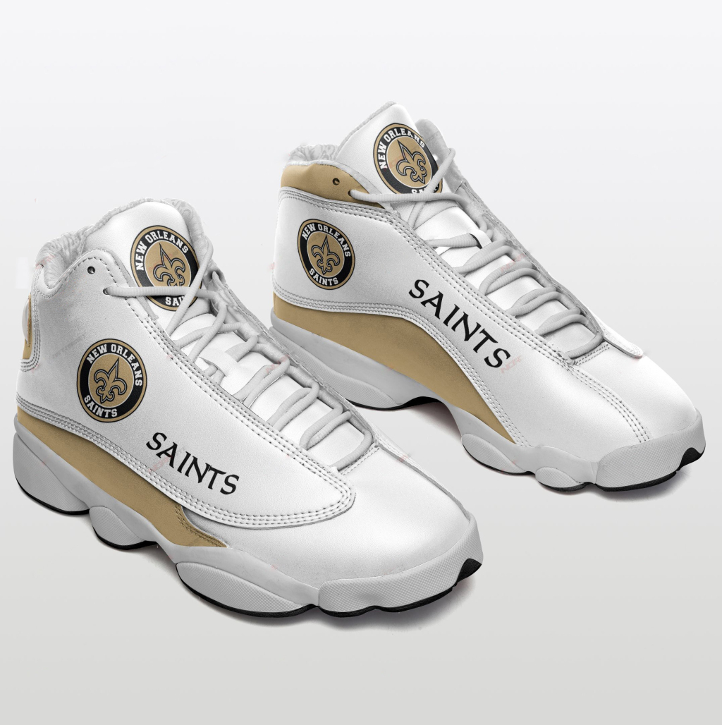 Women's New Orleans Saints Limited Edition JD13 Sneakers 002