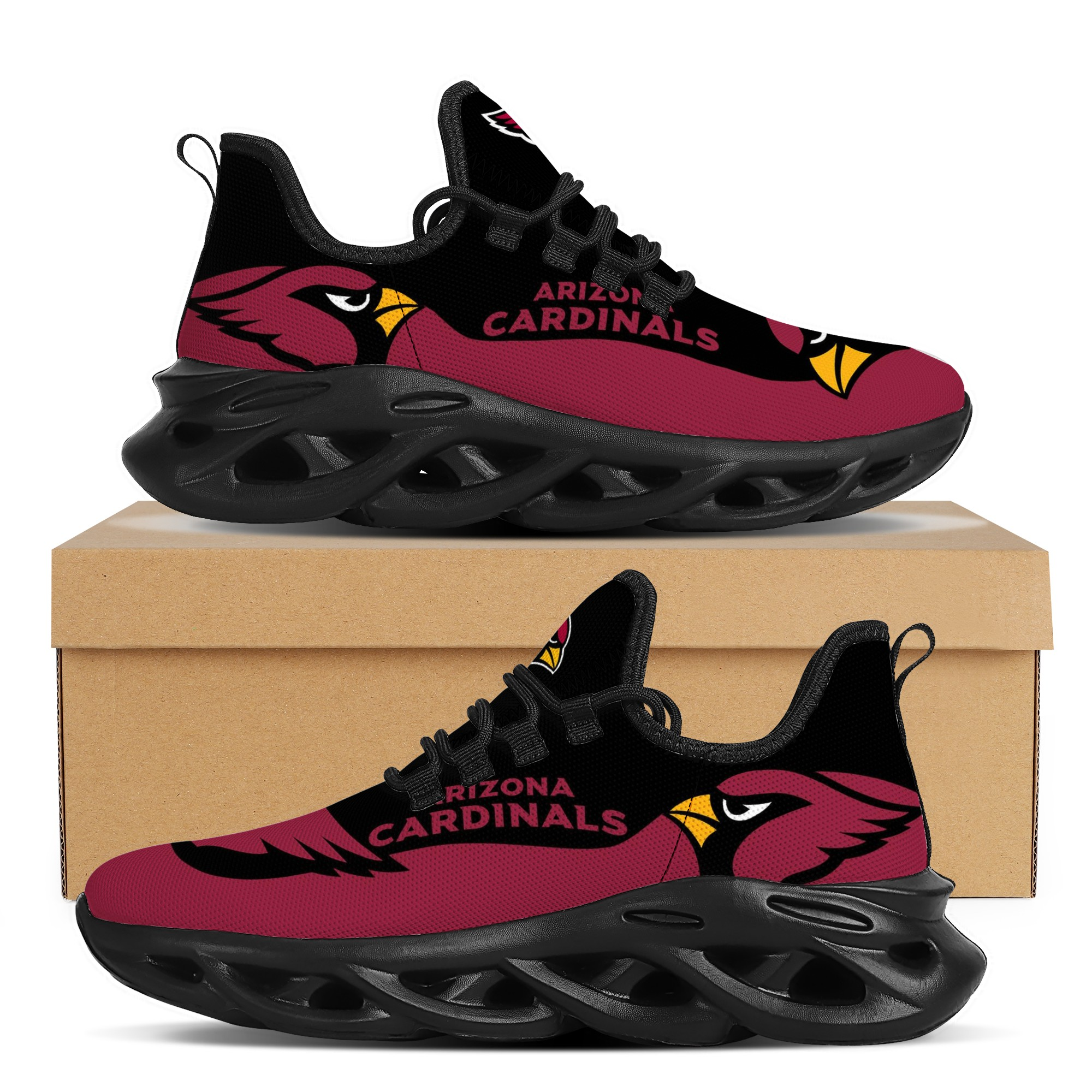 Women's Arizona Cardinals Flex Control Sneakers 001