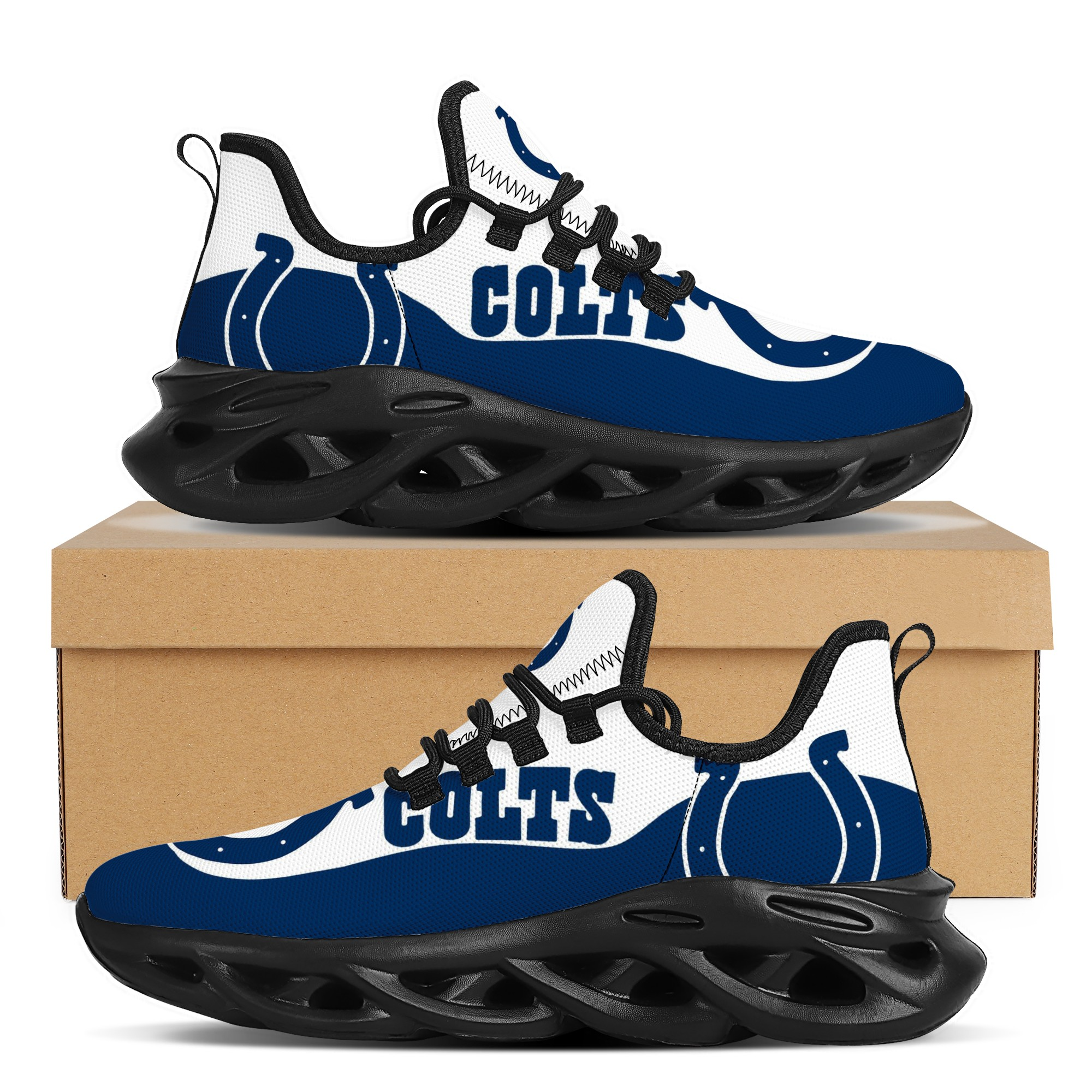 Men's Indianapolis Colts Flex Control Sneakers 001