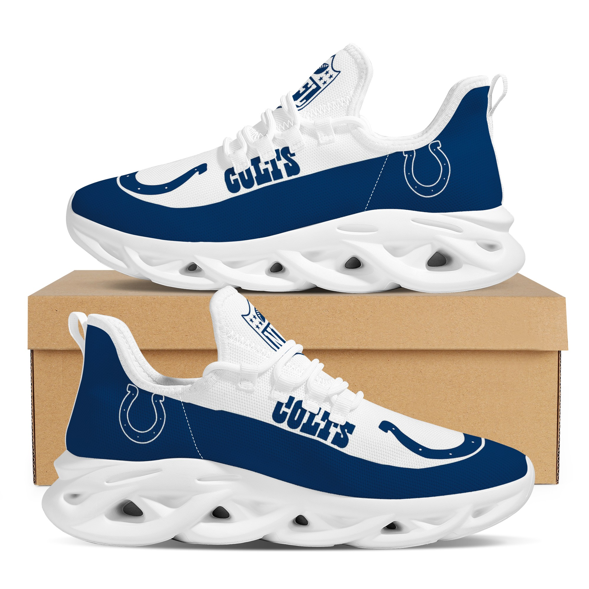 Men's Indianapolis Colts Flex Control Sneakers 004