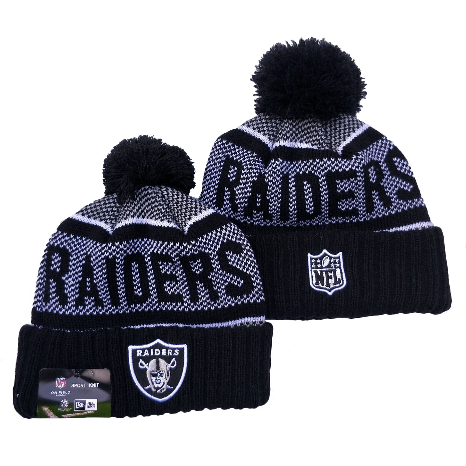 Las Vegas Raiders Knit Hats 079