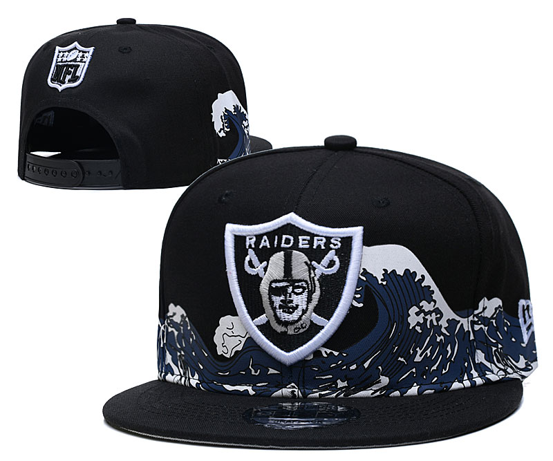 Las Vegas Raiders Stitched Snapback Hats 075