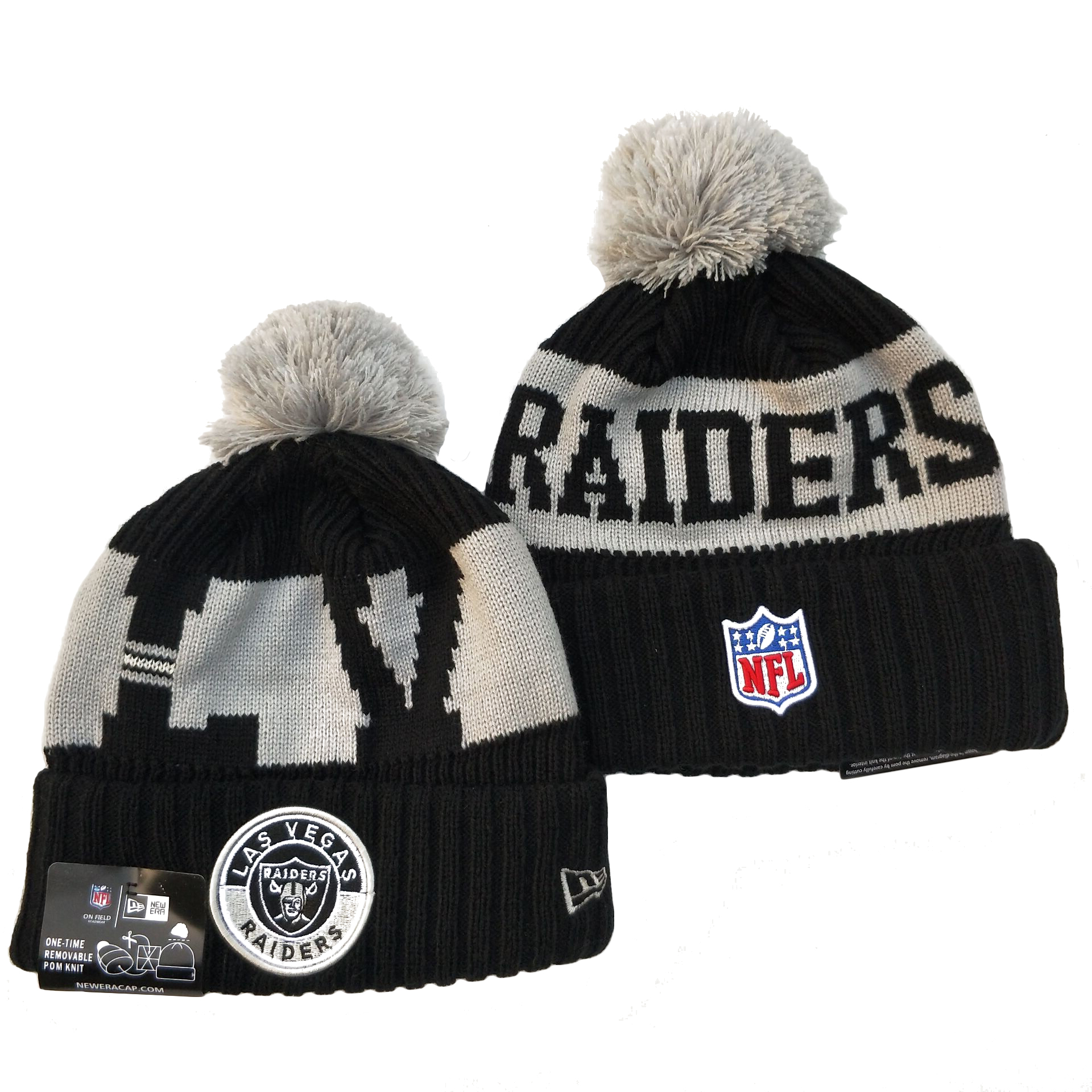 Las Vegas Raiders Knit Hats 076