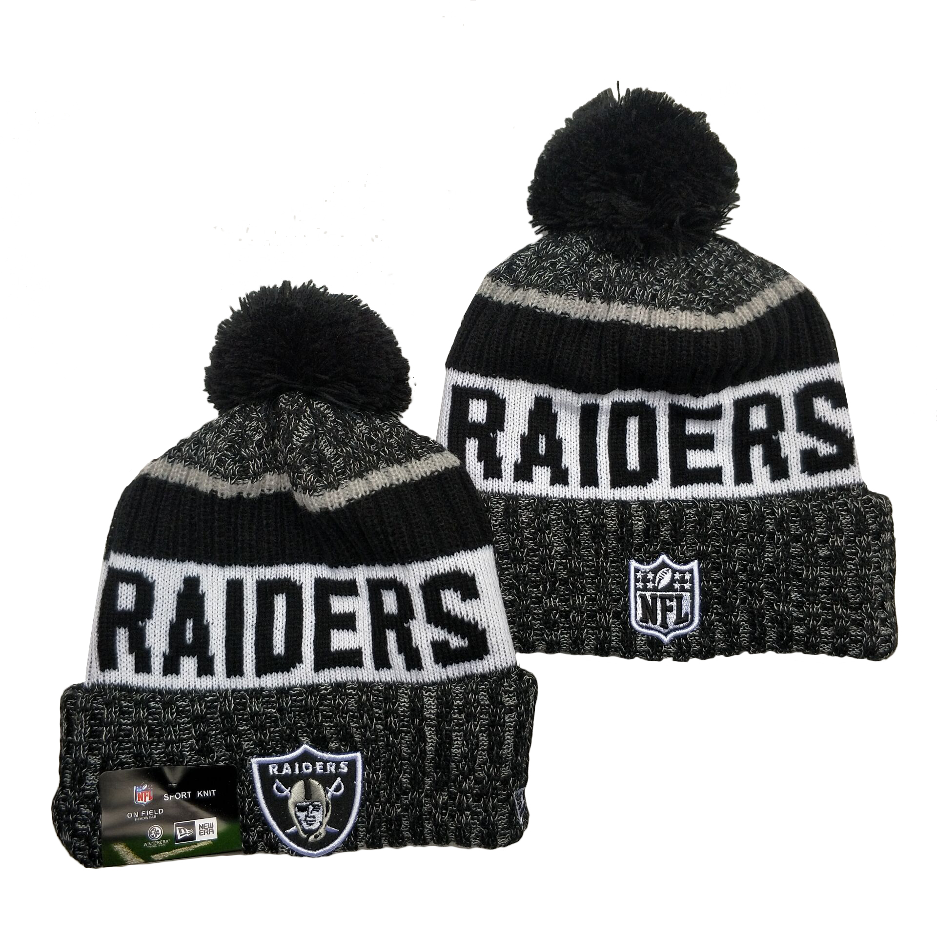 Las Vegas Raiders Knit Hats 078