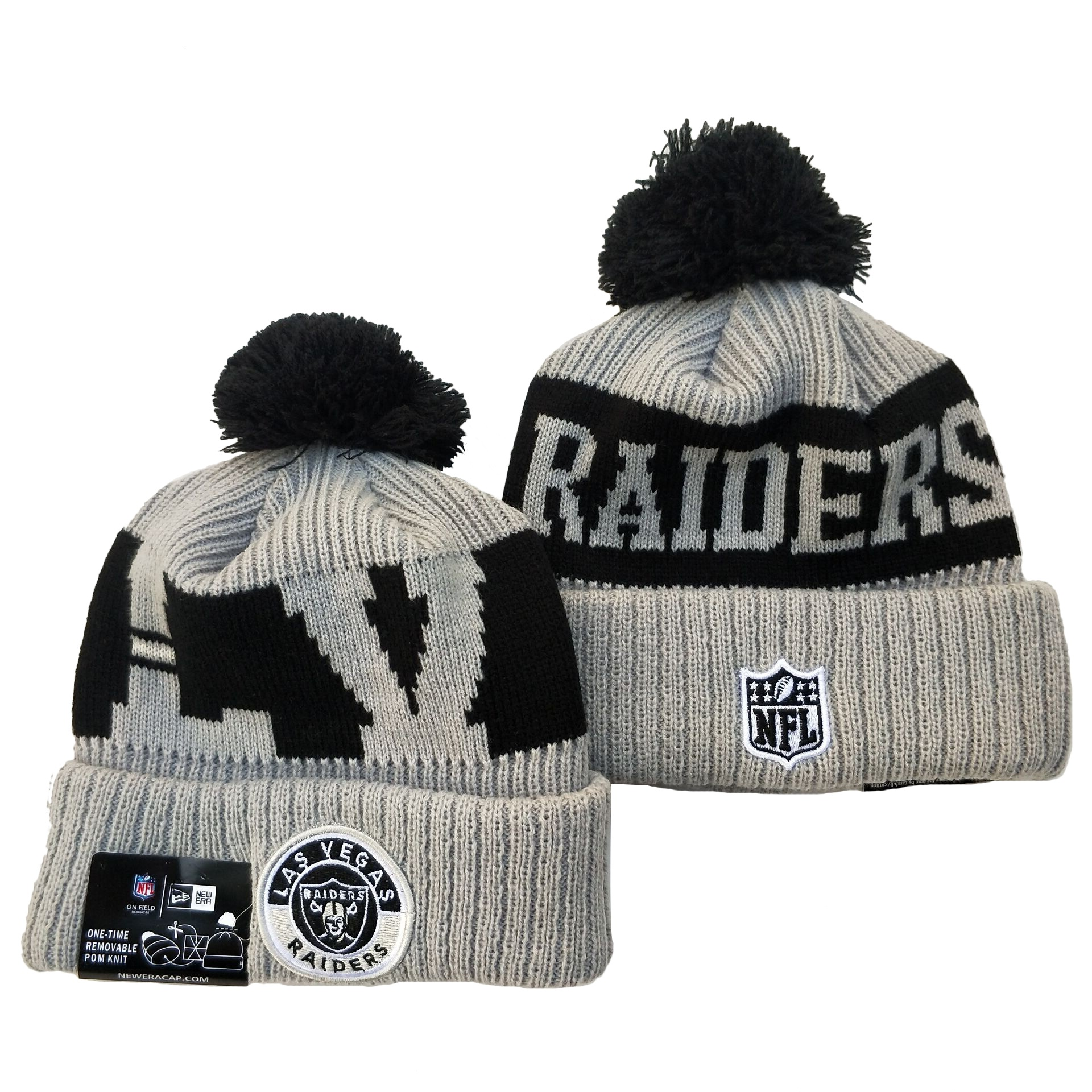 Las Vegas Raiders Knit Hats 077