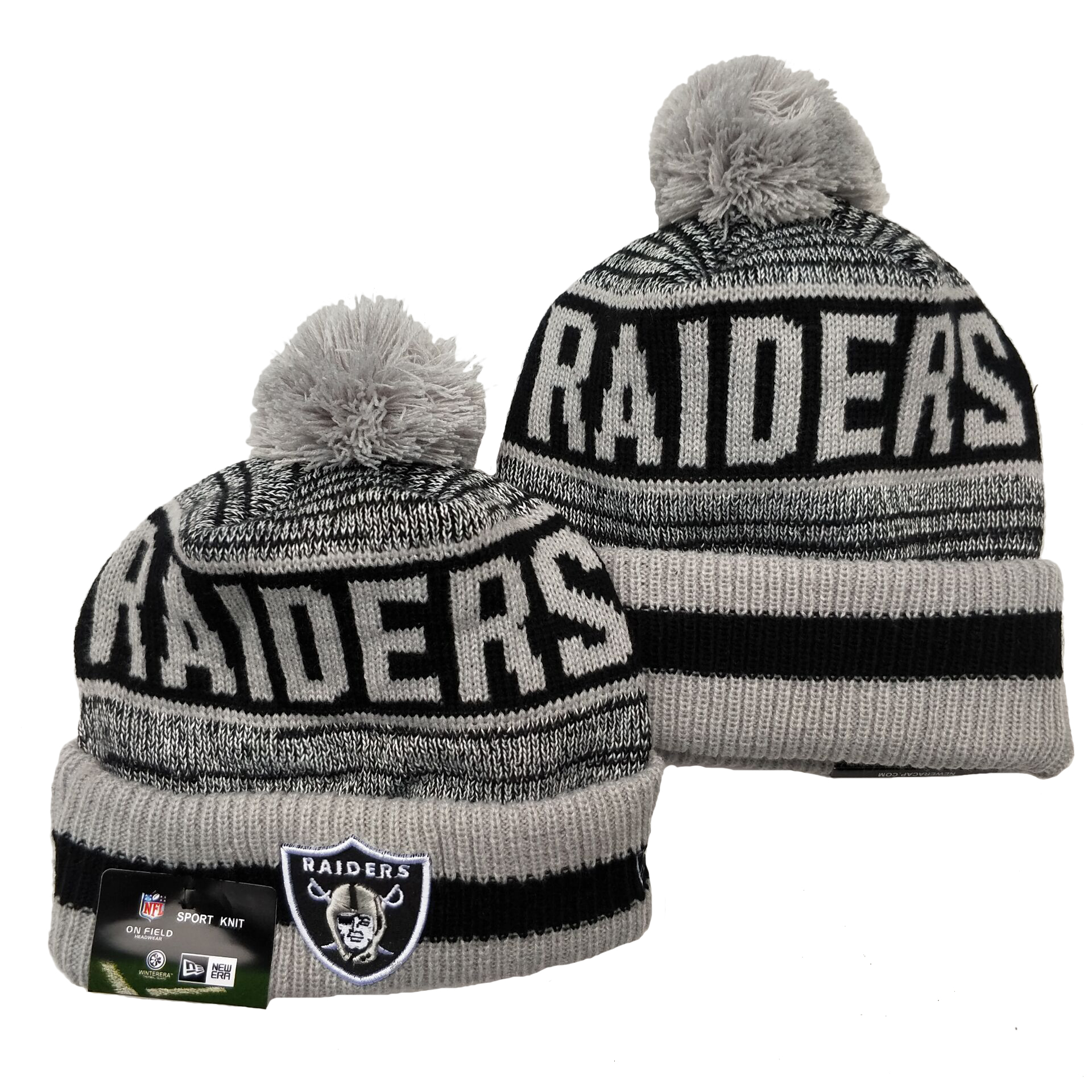 Las Vegas Raiders Knit Hats 081