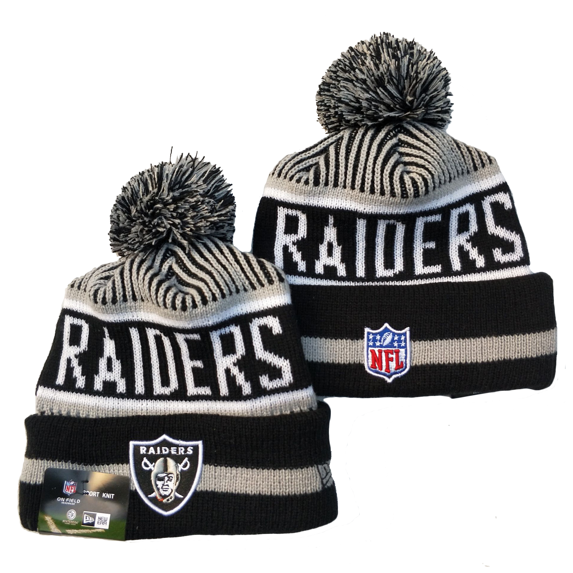 Las Vegas Raiders Knit Hats 080