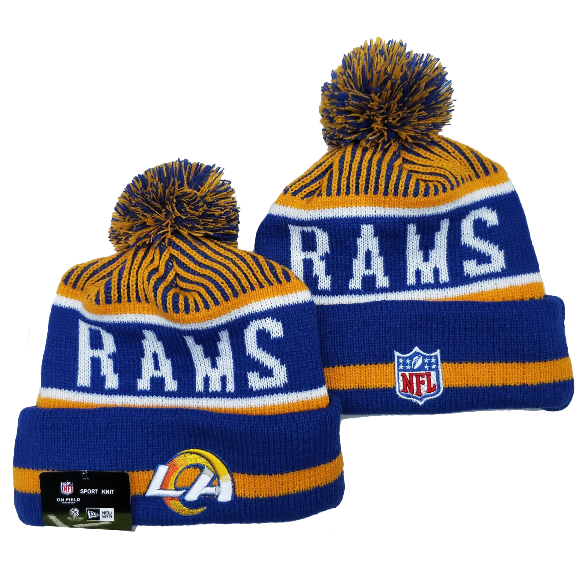 Los Angeles Rams Knit Hats 064