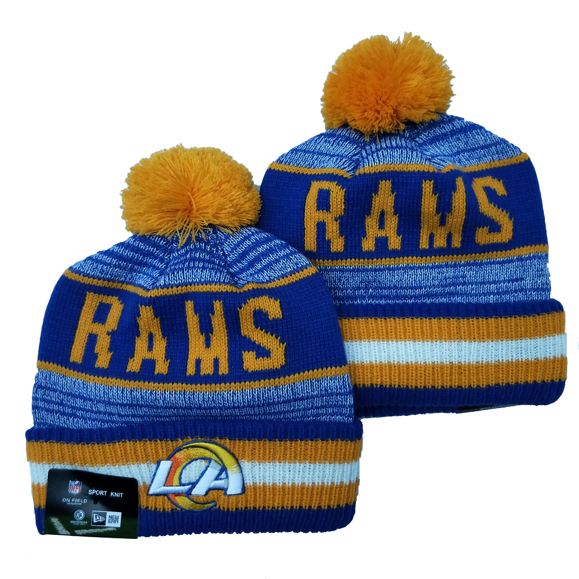 Los Angeles Rams Knit Hats 065
