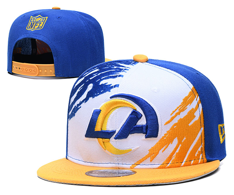 Los Angeles Rams Stitched Snapback Hats 037
