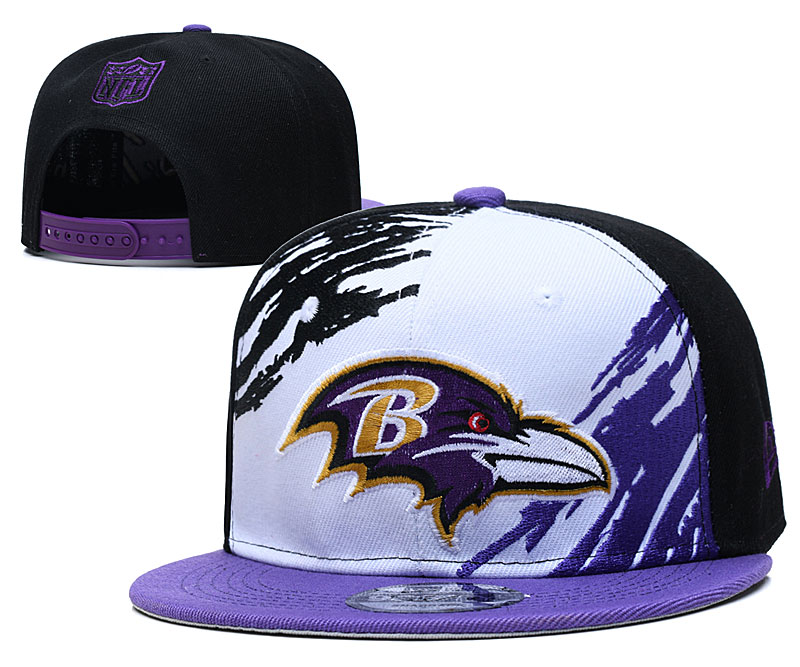 Baltimore Ravens Stitched Snapback Hats 059