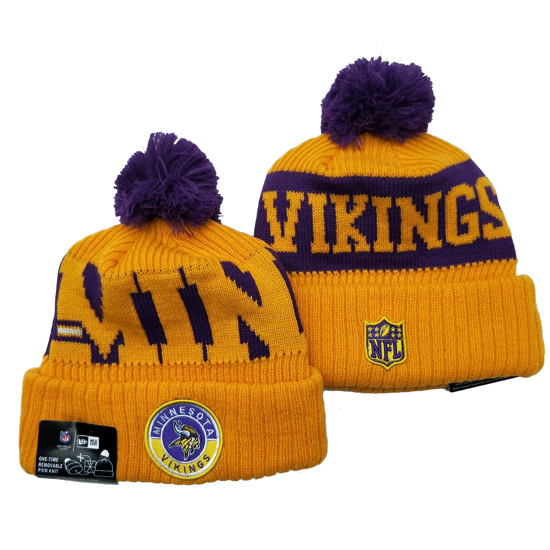 Minnesota Vikings Knit Hats 044