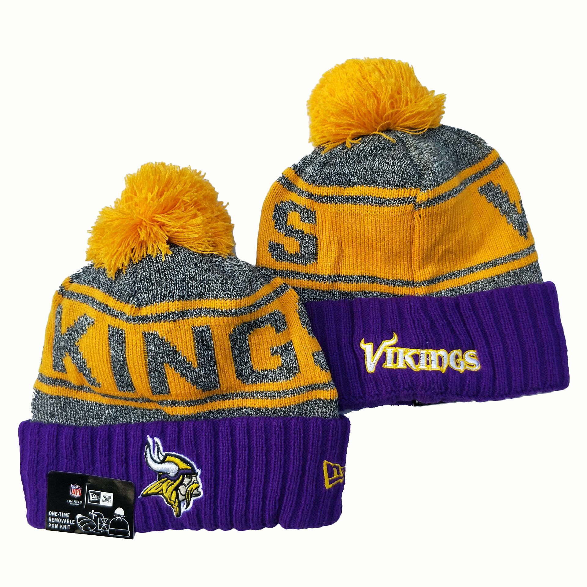 Minnesota Vikings Knit Hats 049