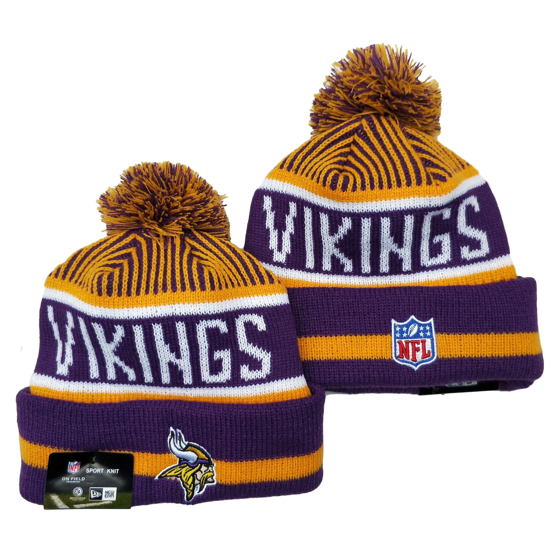 Minnesota Vikings Knit Hats 050