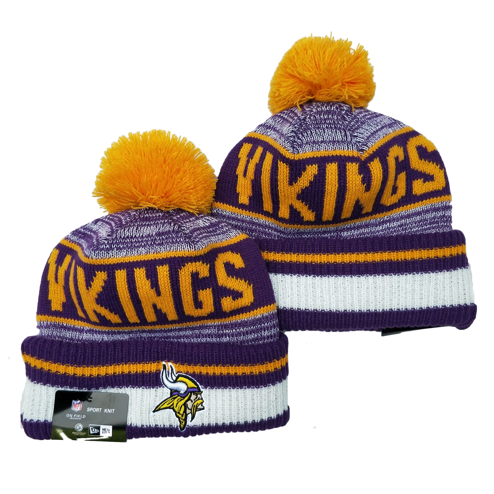 Minnesota Vikings Knit Hats 051