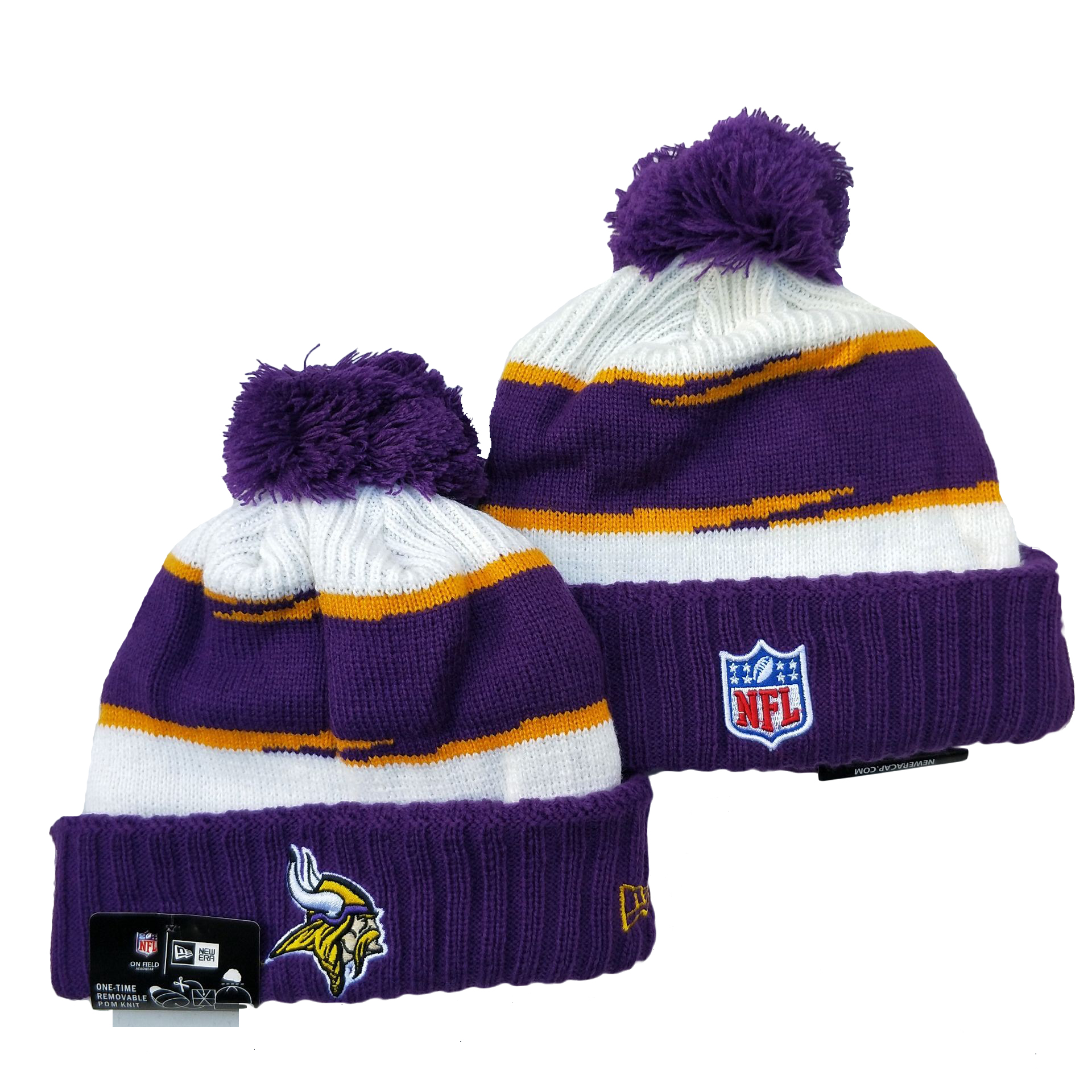 Minnesota Vikings Knit Hats 046