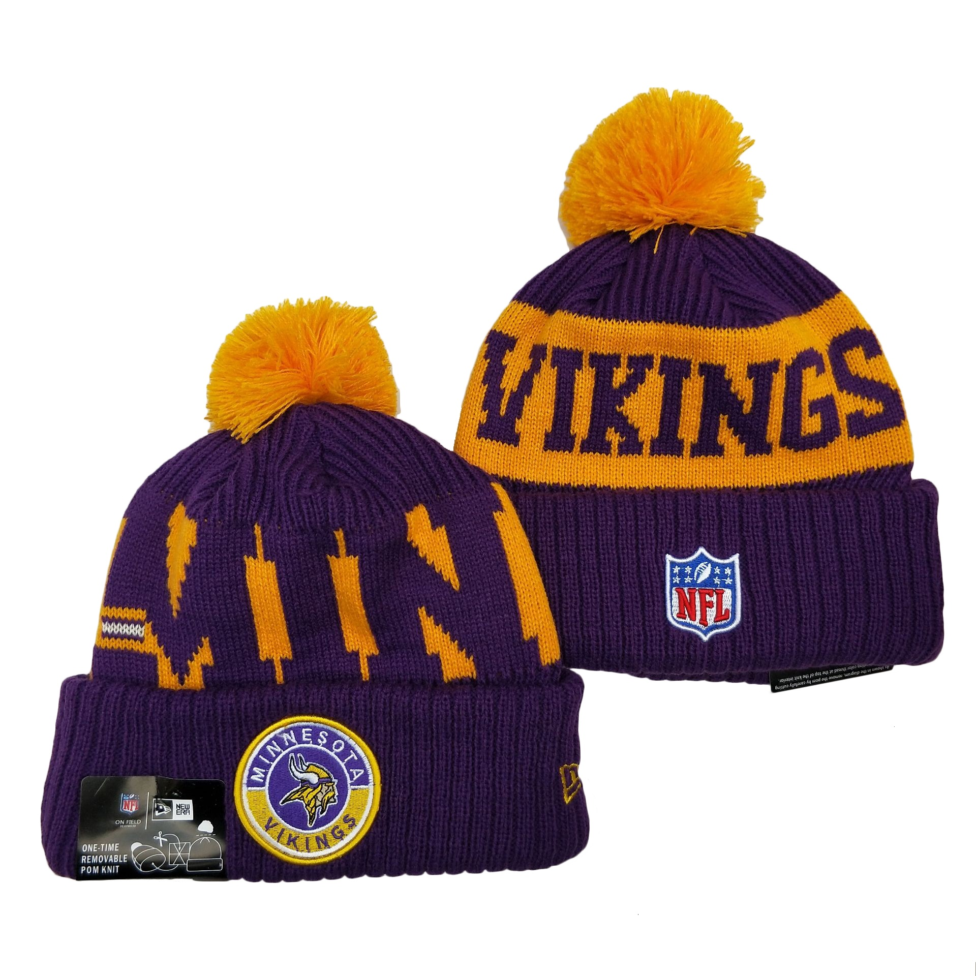 Minnesota Vikings Knit Hats 045