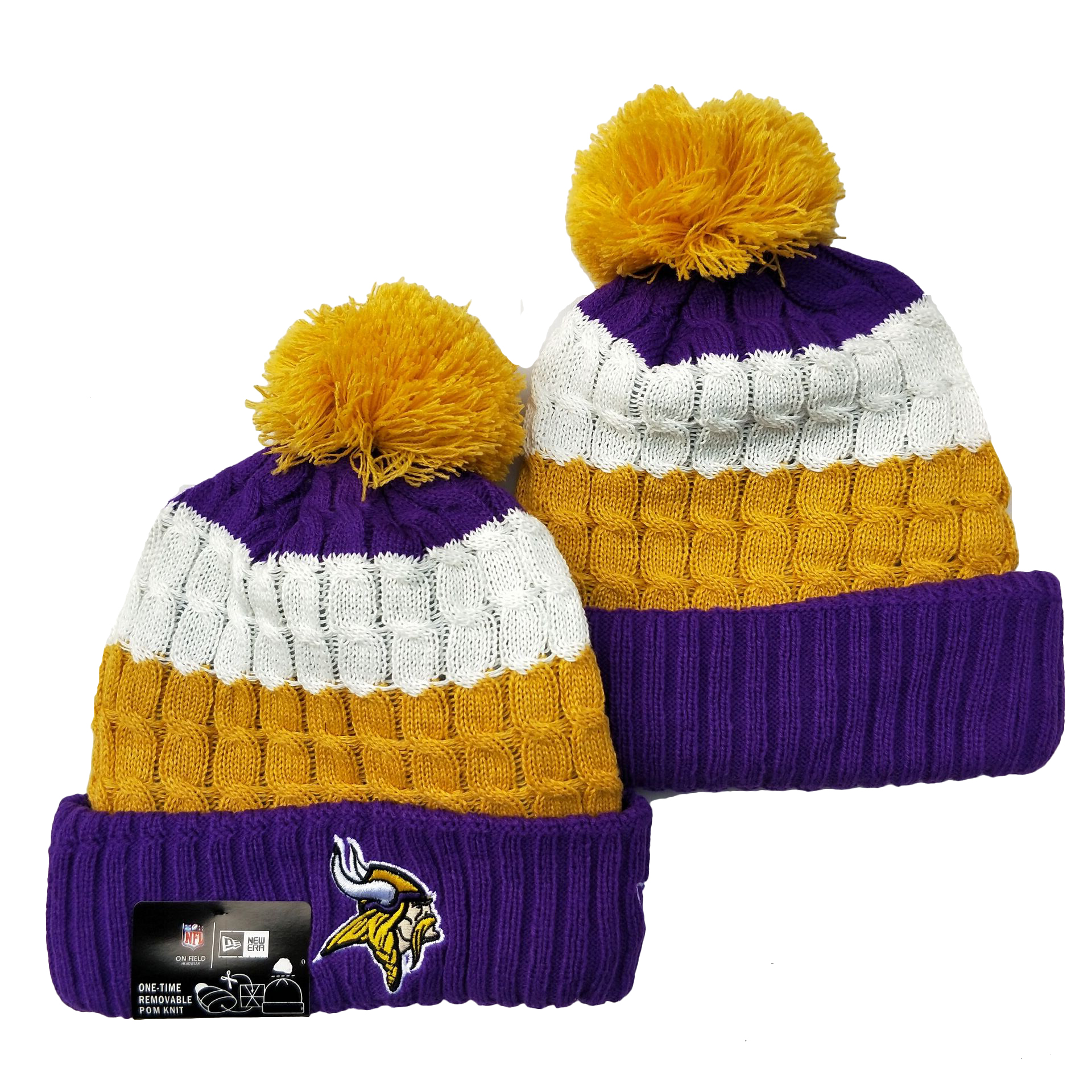 Minnesota Vikings Knit Hats 048